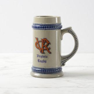 Bière Stein de rugby de VA Chope À Bière