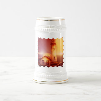 Bière vintage Stein de phare Tasse