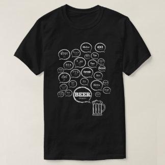 Bières dans le monde entier t-shirt
