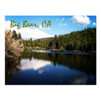 Big Bear, carte postale de CA
