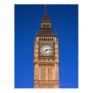 Big Ben au capital britannique Cartes Postales