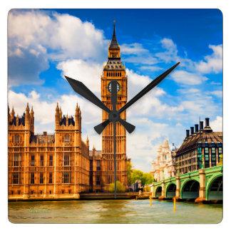 Big Ben Horloge Carrée