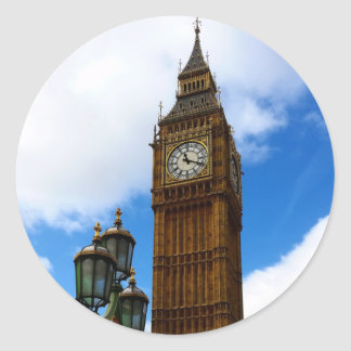 Big Ben Sticker Rond