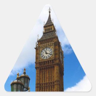 Big Ben Sticker Triangulaire