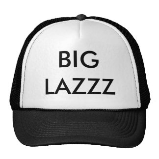 BIG LAZZZ CASQUETTE DE CAMIONNEUR