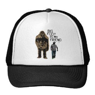 Bigfoot est mon ami casquette trucker