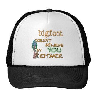Bigfoot ne fait pas casquette