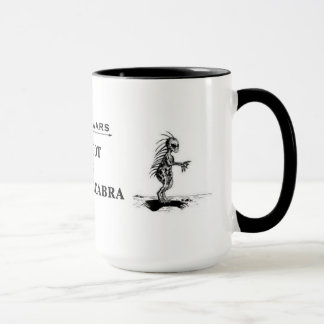 """Bigfoot tasse contre d'EL Chupacabra"""