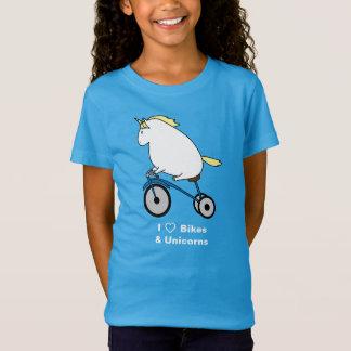 Bijorn les vélos potelés d'amour de la licorne I T-Shirt