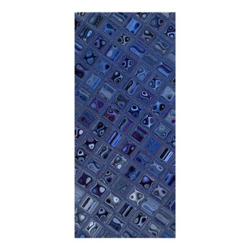 Bijou bleu cartes doubles
