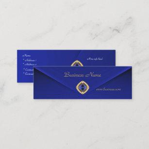 Carte Bleue Riche.Bijou Bleu Riche 2 De Velours D Affaires De Carte