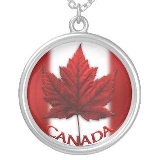 Bijoux de souvenir de drapeau du Canada de collier