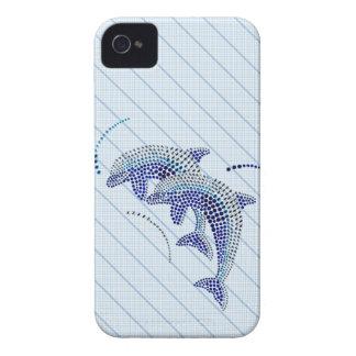 Bijoux élégants de dauphin coques iPhone 4
