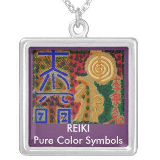 Bijoux en suspens de collier de Reiki