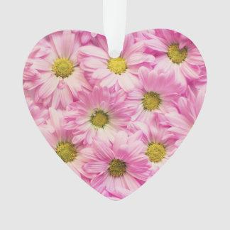 Bijoux - pendentif - marguerites roses de Gerbera