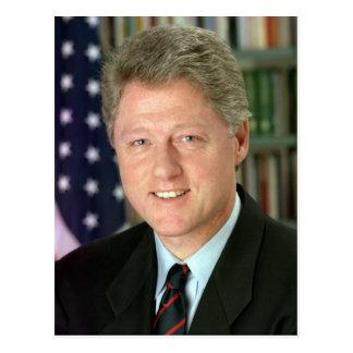 Bill Clinton Carte Postale