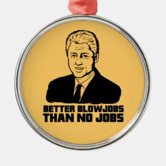 Bill Clinton Meilleur Blowjobs qu aucun travail Décorations Pour Sapins De Noël