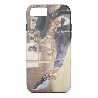 """Bill sauvage"" Hickok (1837-76) démontre sa marque Coque iPhone 8/7"