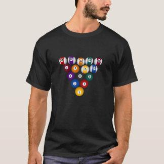 Billards/boules de piscine - T-shirt noir