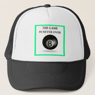 billards casquettes
