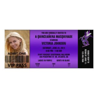 Billet d'admission de la mascarade VIP de Quinceañ Bristol