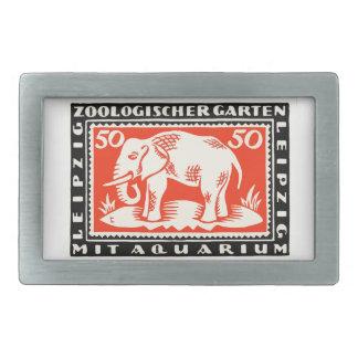 Billet de banque 1919 de Notgeld de zoo de Boucles De Ceinture Rectangulaires