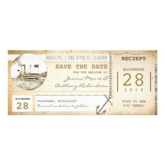 billets de carte d embarquement de croisière pour invitation