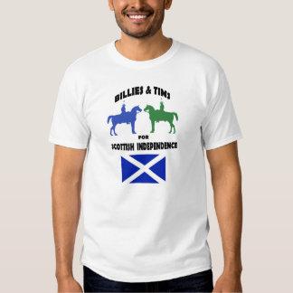 Billies et Tims pour le T-shirt écossais de