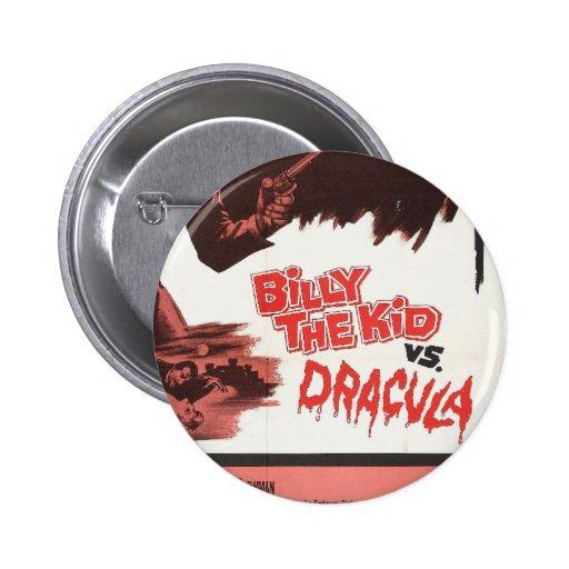 Billy l'enfant contre le bouton d'étiquette de Dra Badge Avec Épingle