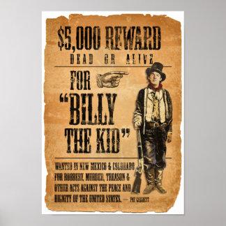 Billy l'enfant posters