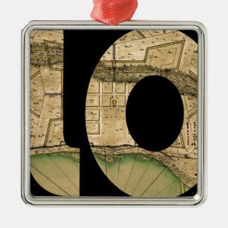 biloxi1721 ornement carré argenté