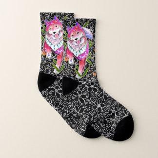 BINDI SHIBA INU -   chaussettes