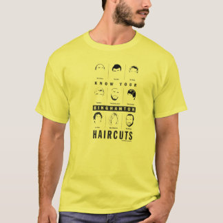 Binghamton NY - sachez vos coupes de cheveux T-shirt