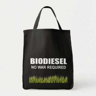 Biodiesel : Aucune guerre requise Sac