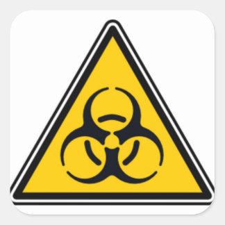 Biohazard 02 sticker carré