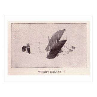 Biplan de Wright Carte Postale