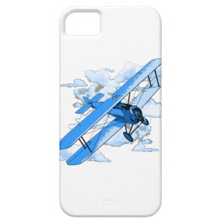 Biplan vintage de vol coque barely there iPhone 5