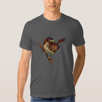 Birdie à distance t-shirts