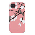 Birds_leaves_tree_design Coques iPhone 4/4S