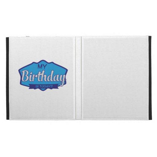 birthday coques iPad