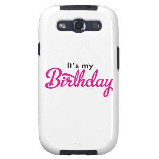 birthday étuis galaxy s3