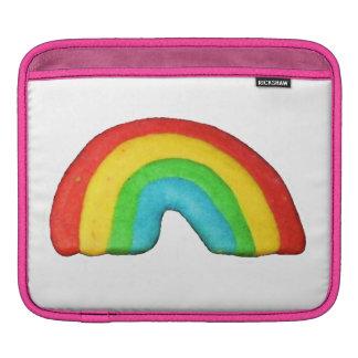 Biscuit d'arc-en-ciel poches iPad