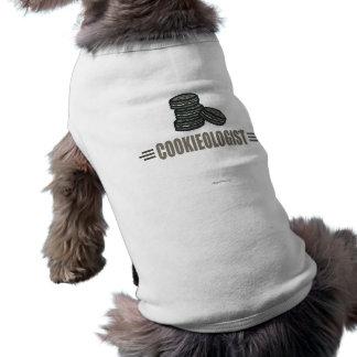 Biscuits drôles t-shirt pour chien