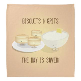 Biscuits et Bandana des poussières abrasives |