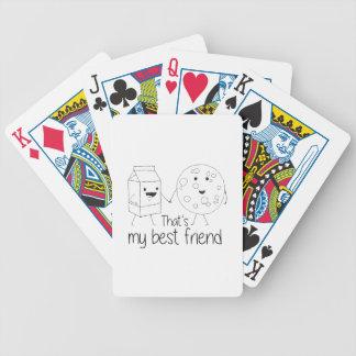 Biscuits et lait - meilleurs amis jeu de poker