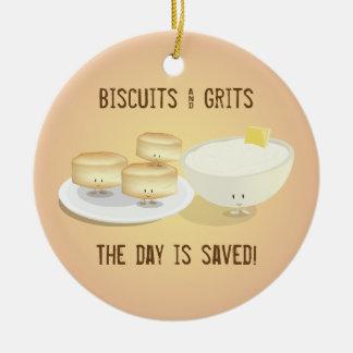 Biscuits et ornement des poussières abrasives |