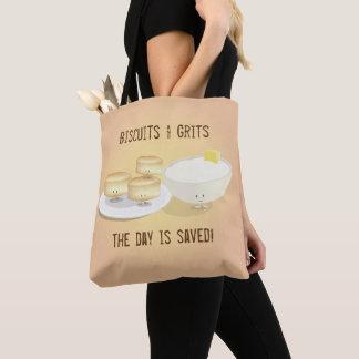 Biscuits et sac fourre-tout aux poussières