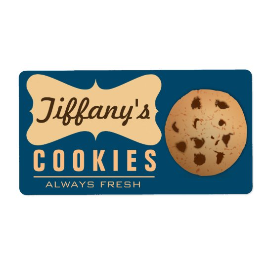 Biscuits faits main | Homebaked naturels du Étiquette D'expédition