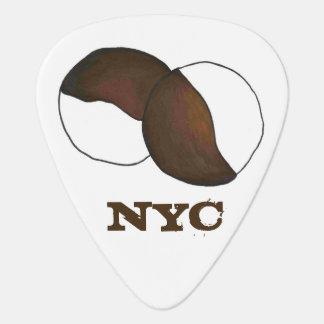 Biscuits noirs et blancs de biscuit de NYC New Onglet De Guitare