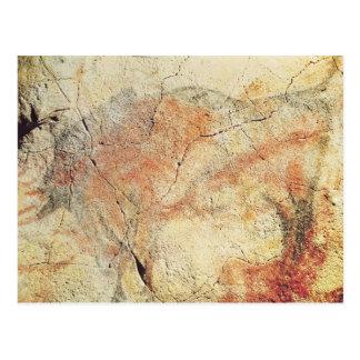 Bison, des cavernes chez Altamira, c.15000 AVANT Carte Postale